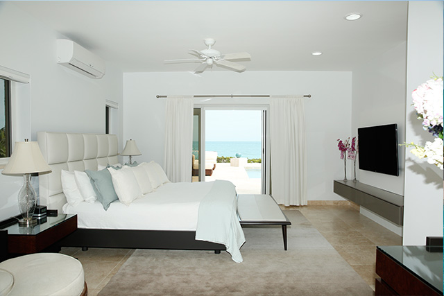 Aramesh luxury beach villa for rent, Long Bay, Turks and Caicos