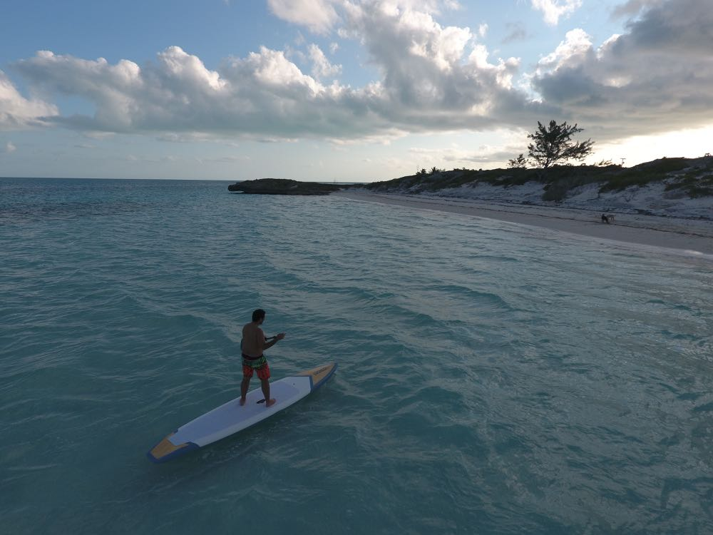 SUP In Turks and Caicos
